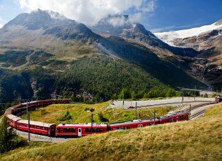 7 самых красивых железнодорожных маршрутов мира
