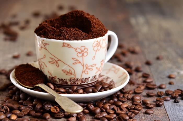 Измельченный кофе