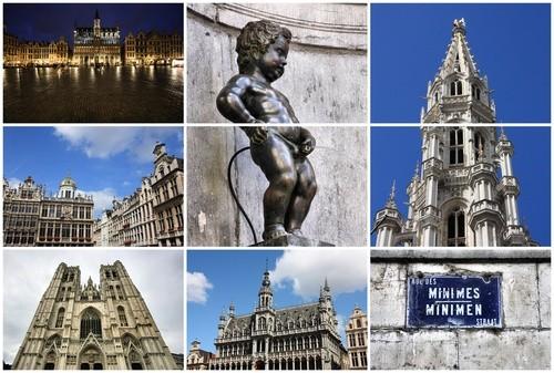 """Статуя """"Писающий мальчик"""", Бельгия"""