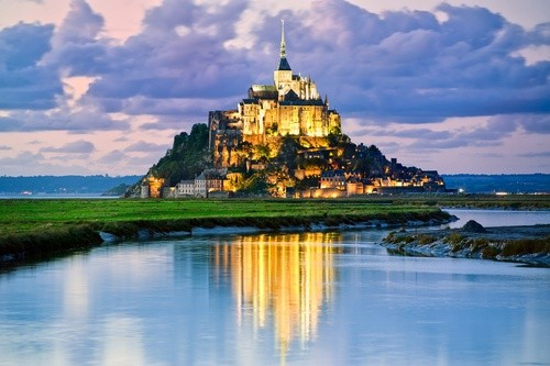 Мон-Сен-Мише́ль, Франция
