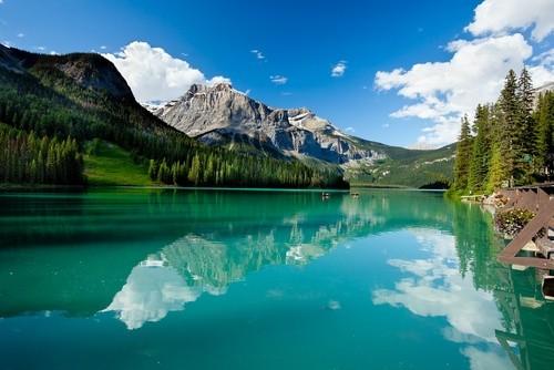 Озеро Эмеральд, Канада