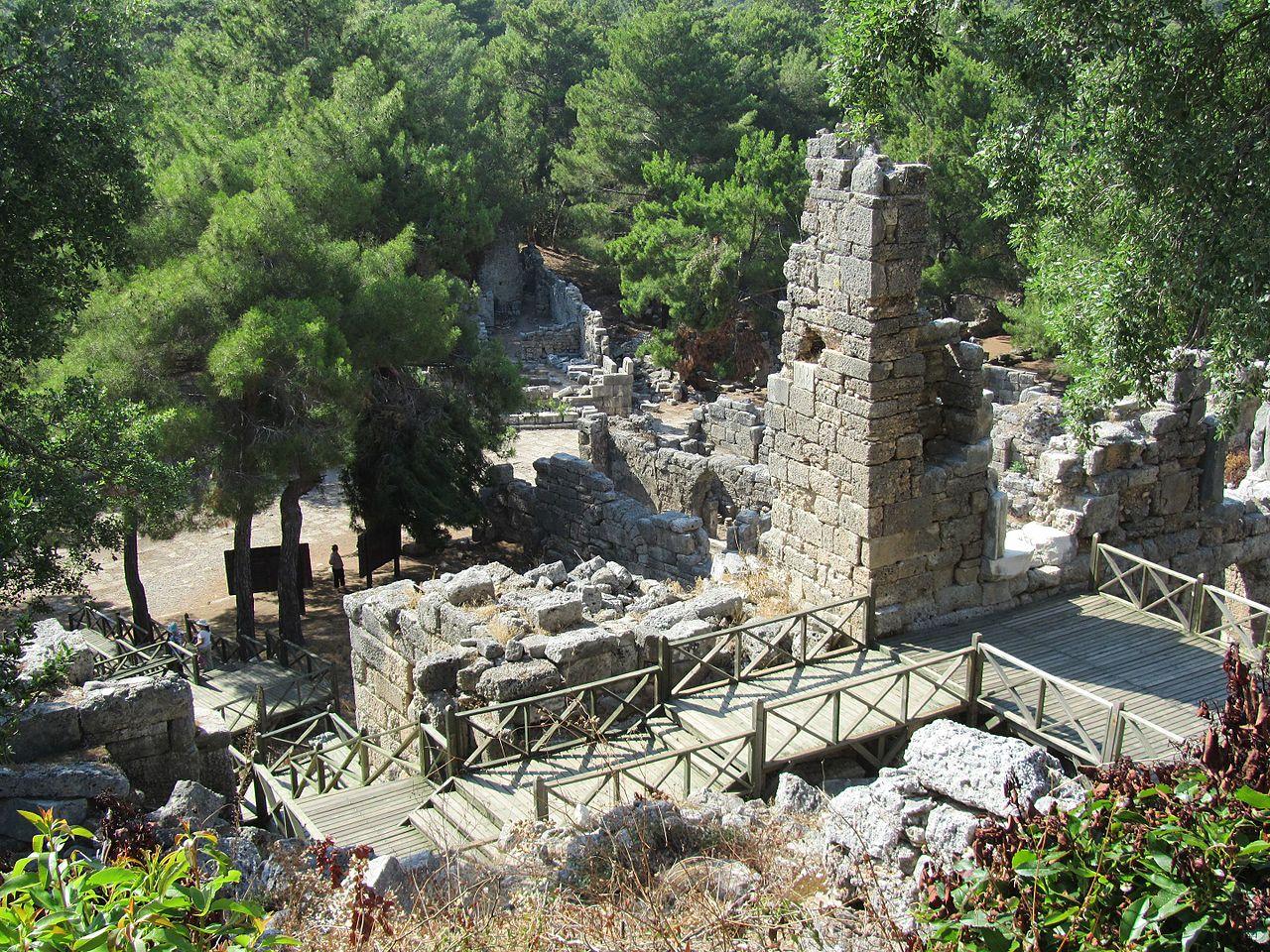 Древний город Фаселис, Турция