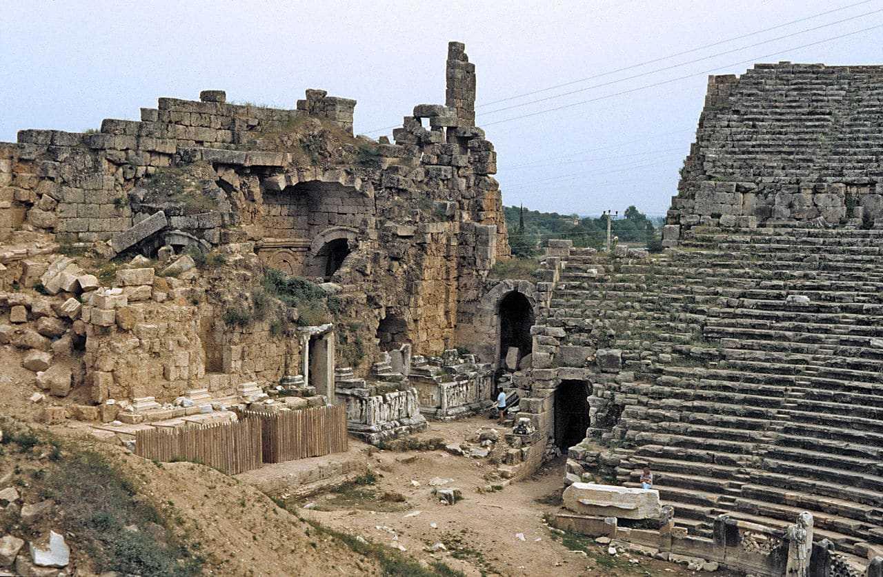 Перге - древняя жемчужина побережья Анталии, Турция
