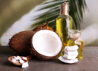 Кокосовое масло, кокос целый, половина и кусками