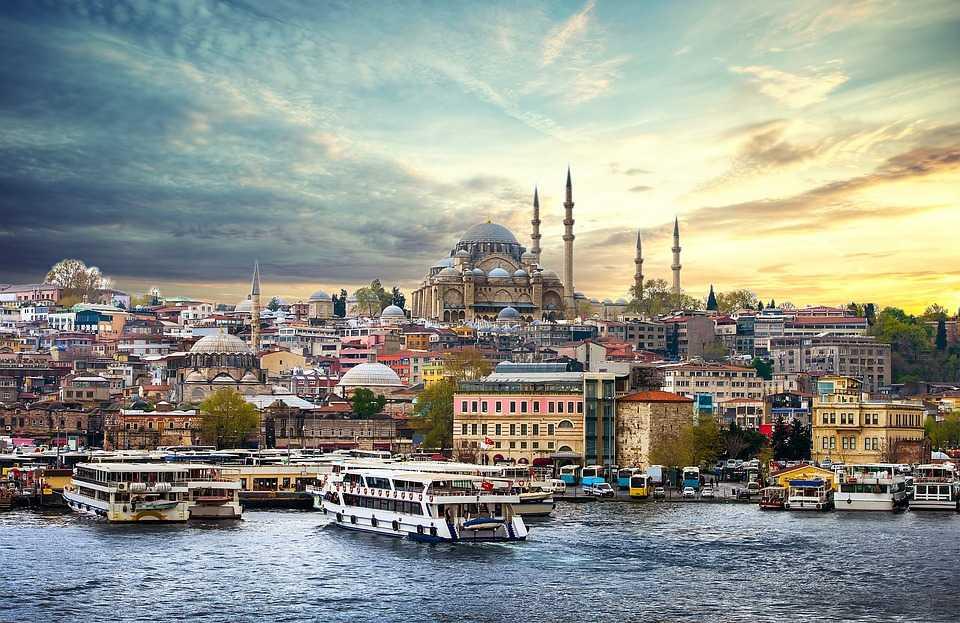 самый захватывающий город в Турции - Стамбул