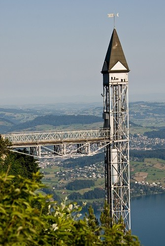 Лифт Хамметшванд – Бюргеншток, Швейцария