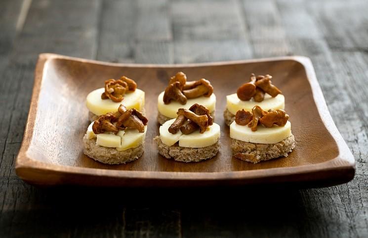 6 Идей для Закусочных Бутербродов к Новому Году