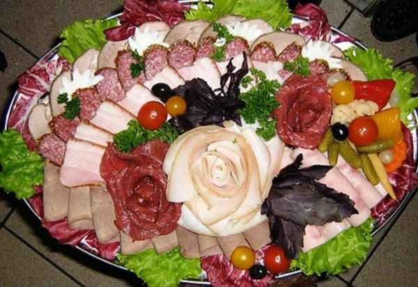 Около 50 Украшенных Блюд к Новогоднему Столу по Технике Карвинг