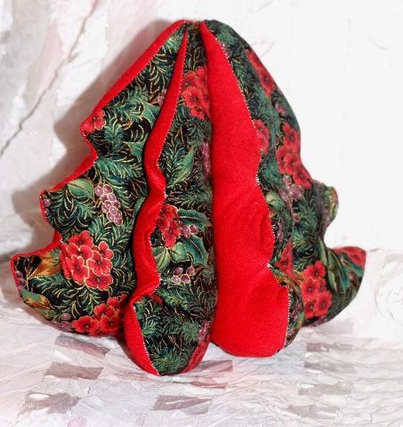 Текстильная елочка «Нарядная»