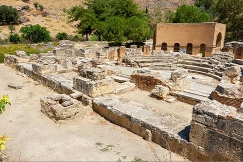 Гортис, Крит