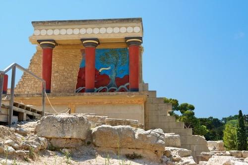 Минойский дворец, Крит