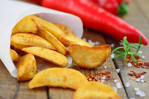 Идеально прожаренный картофель