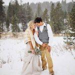 Зимняя свадьба 26