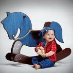 Новогодние игрушки с сердцем и душой - Коники-поники 1