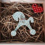 Новогодние игрушки с сердцем и душой - Коники-поники 14