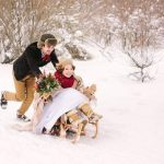 Зимняя свадьба 38