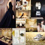 Elegant-Black-and-Gold-Wedding-Ideas