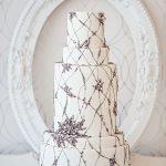 Purple-white-wedding-cake