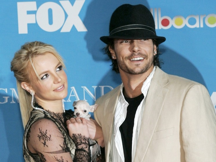 Бритни Спирс с мужем