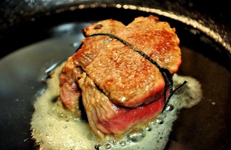 Филе говядины с грибным гратеном 2
