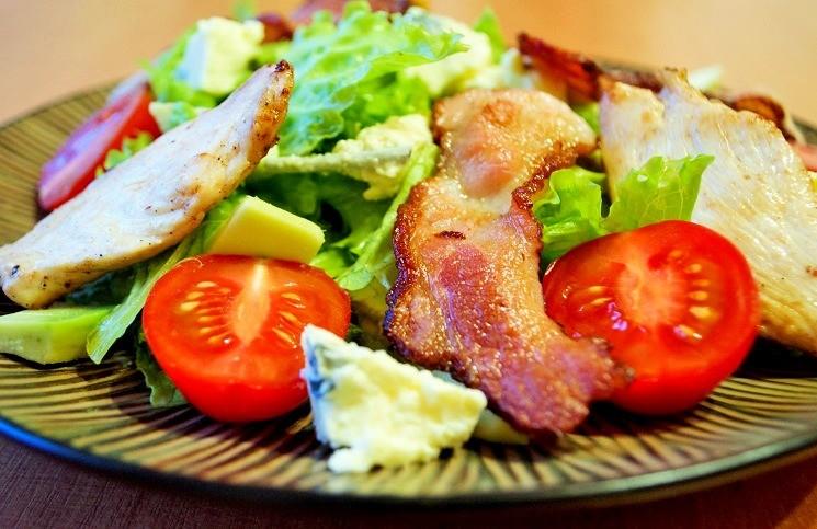 Смешать салат - Кобб-салат
