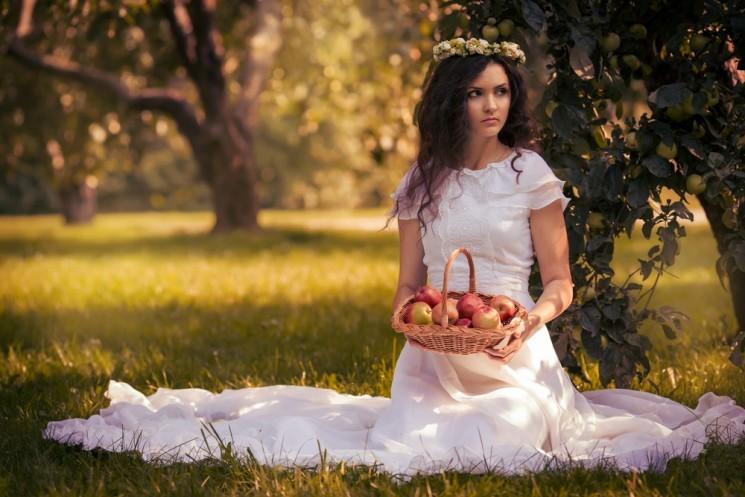 Невеста для конкурса