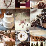 pine-cone-wedding-decoration-ideas-wedding-seasons-winter-pinterest