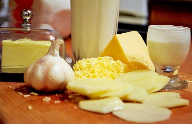 Продукты для картофельного гратена Дорфинуа