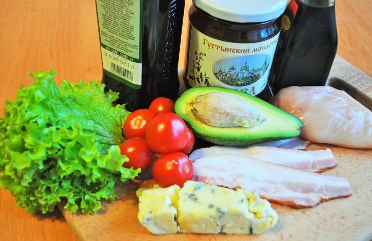 Продукты для кобб-салата