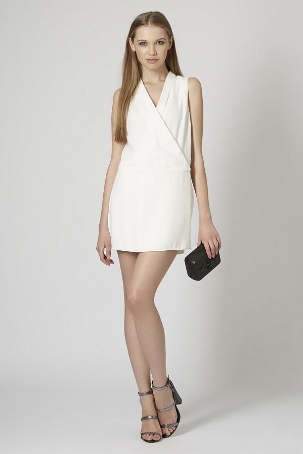 Белое платье от TOPSHOP