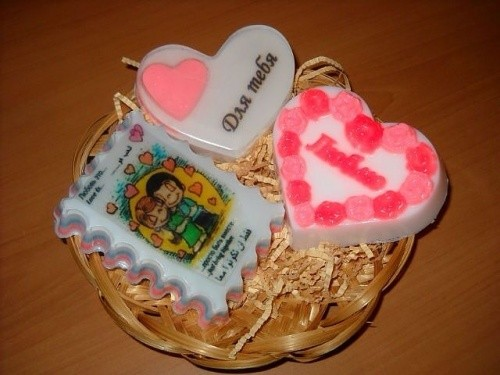 7 изделий мыла ручной работы в подарок ко Дню влюбленных