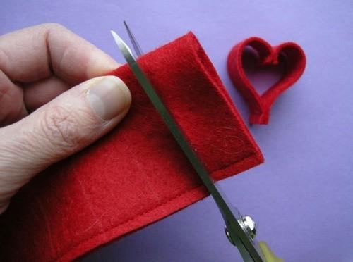 Гирлянда из Сердец для Романтического Вечера на 14 Февраля