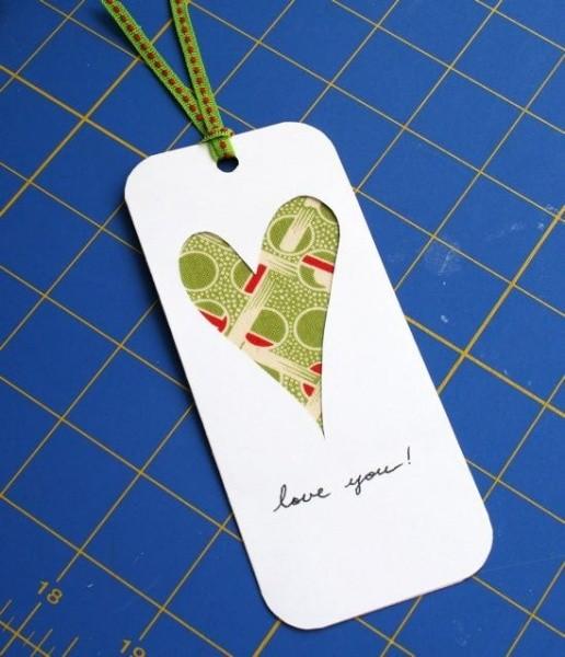 Валентинка своими руками в подарок любимым