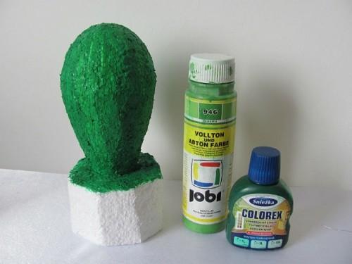 Краска и пигмент зеленого цвета