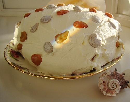 Приготовление пирога с брусникой