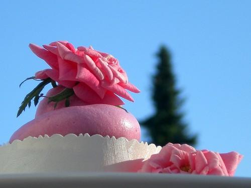 Как готовится пирожное розочка
