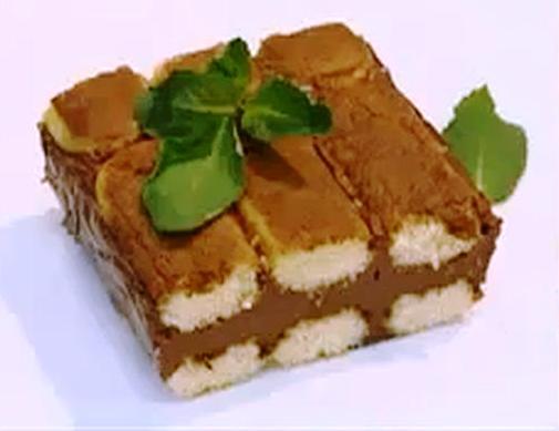 Шоколадный десерт для любимой