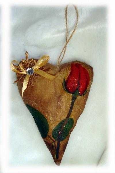 Валентинка с запахом шоколада Единственной