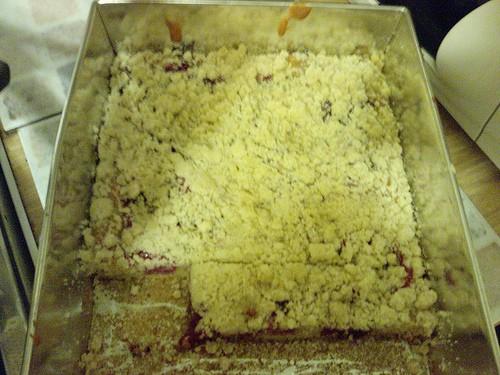 Приготовление тертого пирога