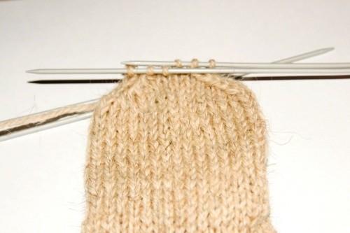 Убавление петель в вязании