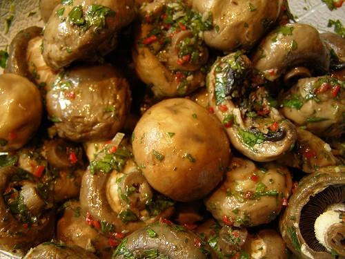 Вкусные блюда с грибами