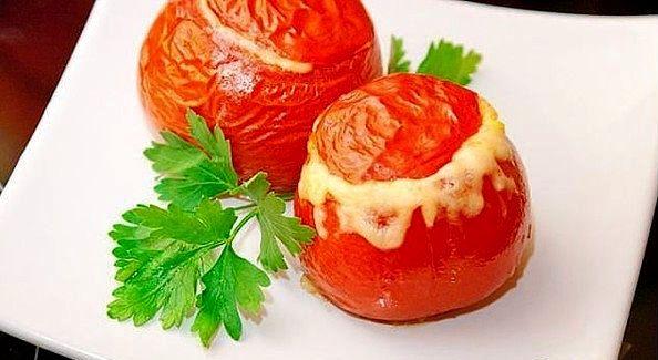 Рецепт фаршированных помидоров на скорую руку