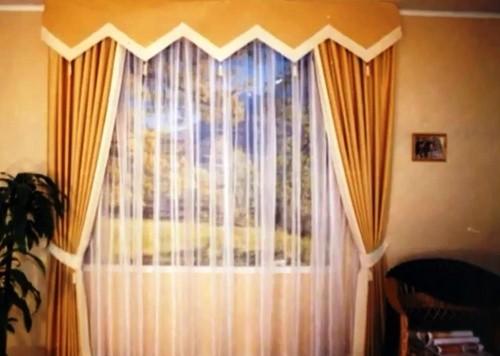 Около 90 видов сшитых дизайнерских работ по оформлению штор