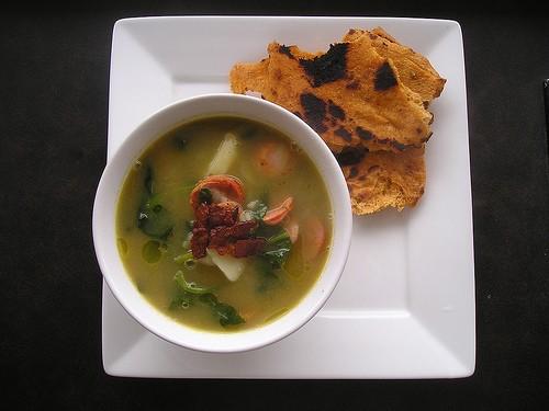 Рецепт супа из шпината