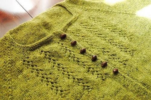 Оформление вырезов горловины в вязании