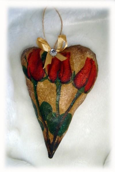 Валентинка с запахом шоколада - Букет Роз