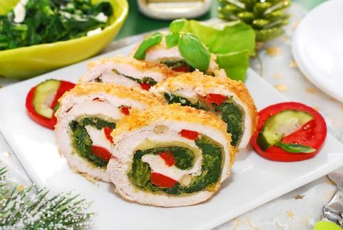 8 шагов правильного приготовления куриных рулетиков с овощами