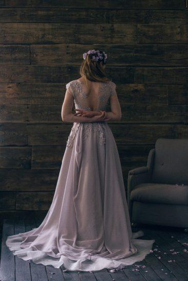 Платье для весенней невесты 2015