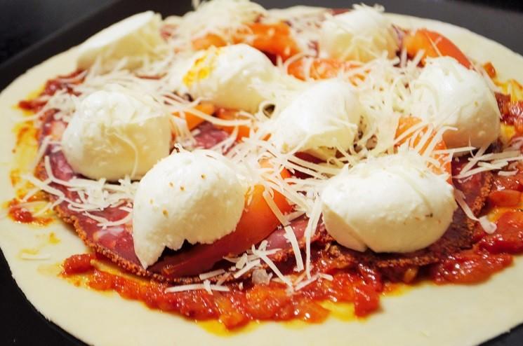 Выложина противень - Пицца Пепперони