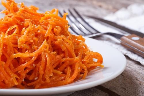 Салат корейская морковь